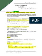 Ejercicios y soluciones de contabilidad I