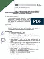 Bases Administrativas Para Concurso Interno de Ascenso