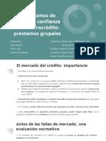 El microcrédito