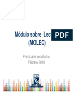 Resultados Módulo sobre Lectura 2018 México