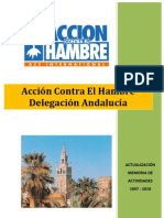 Memoria de Actividades Andalucia 1997_2010