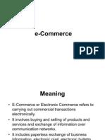e Commerce Class