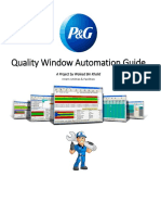 AutoCL Utilities Quality Window Guide