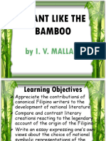 Pliant Like the Bamboo