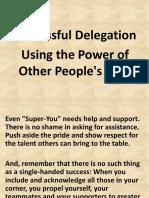 Delegation