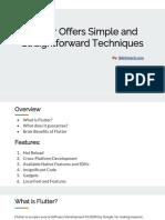 Hire Flutter Programmers, Flutter app Development services