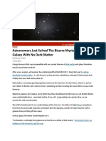 Astronomers Just Solved The Bizarre Mystery of a Galaxy With No Dark Matter.docx