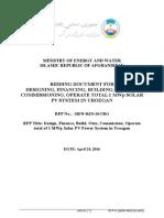 20 RFP_Urozgan Solar 1 MW (MEW REN 20 URO)3fc9e788 f7cd 4f40 b84a 2aed9cec2ce8