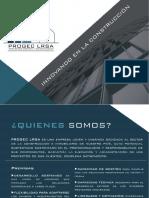 Brochure Progec Lrsa