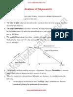 12 Applications of Trigonometry
