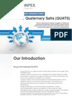 Pat Impex | Quats | Ammonium & Phosphonium Salts | Catalyst