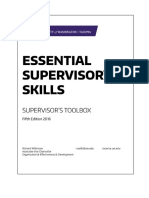 UWT Supervisors Toolbox