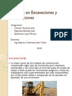 Trabajos en Excavaciones y Demoliciones