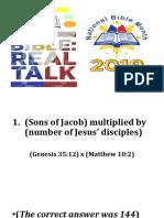 Bible Math Ppt