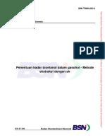uji kadar bioetanol dalam gasohol