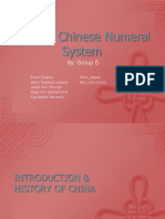 Ancient Chinese Numeral System