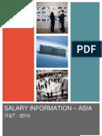 Hudson Asia IT Telecommunications Salary Information