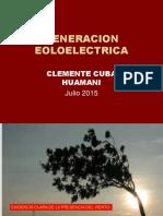 GENERACION EOLOELECTRICA