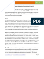 Strategic Arms Limitation Treaty (SALT) I and II