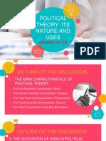 George Kateb's Political Theory
