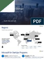 Microsoft for Startups Deck 19