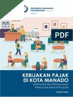 Kebijakan Pajak Di Kota Manado (Studi Kasus Pengusaha Kedai Kopi)