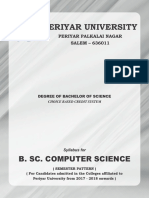 B.sc-computer-Science 2017 2018 Syllabus