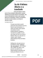 Maria de Fátima Bonifácio e a Cristandade _ Opinião _ PÚBLICO