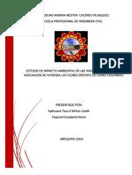 ESTUDIO DE IMPACTO AMBIENTAL DE LAS VIAS SECUNDARIAS EN LA ASOCIACION DE VIVIENDA LAS FLORES.pdf