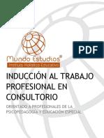 Información General - Inducción Trabajo en Consultorio