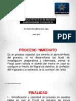 Clase Nº 5 Diapositiva de La Defensa Tecnica en Proceso Inmediato