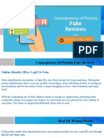 Consequences of Posting Fake Reviews (www.myassignmenthelp.com)