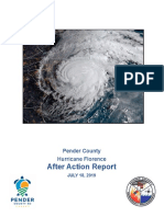 Pender Co. Hurricane Florence After Action Report