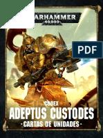 Codex Custodes - Cartas de Unidades