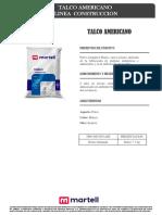 F.T. Talco Americano Martell