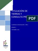 E-MINE - TITULACIÓN DE TIERRAS Y CONSULTA PREVIA.pdf