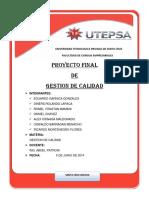 Proyecto Final-1 de Gestion de Calidad
