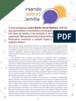 Psicopedagoga Laura Monte Serrat Barbosa