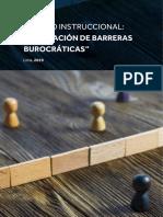 Eliminación de barreras burocráticas Idecopi