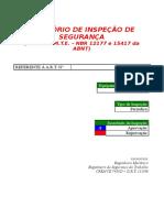 Inspeção Periódica - Caldeira ATA H3N - Abril de 2010