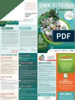 Programme Semaine Des Possibles 2018
