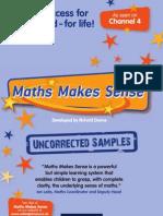 Maths Makes Sense sample resources