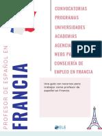 Guía Para Ser Profesor de Español en Francia