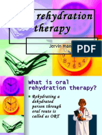 Oral Rehydration Therapy