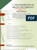 Trigonometría en El Triángulo Rectángulo