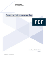 Cases in Entrepreneurship