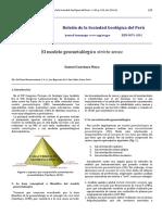 El modelo geometalúrgico stricto sensu