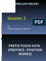 Terminologi Medis I-session 3