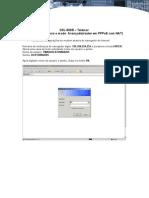 DSL-500B - Telemar - Configuracoes Para o Modo Avancado(Router Em PPPoE Com NAT)