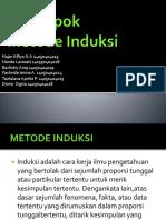 METODE INDUKSI (Kelompok filsafat ilmu) kELOMPOK 2.pptx